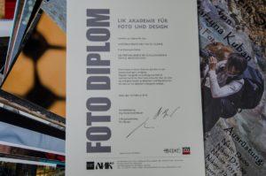 Abschlussdiplom an der Lik Akademie Wien