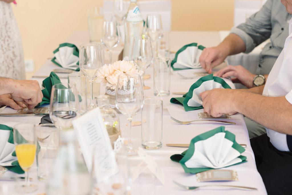 Hochzeit-Tisch-Kuban Foto