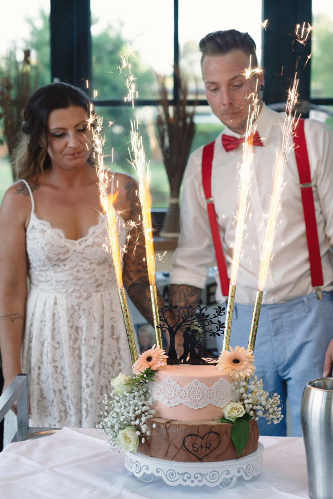 Hochzeitstorte-Kuban Foto
